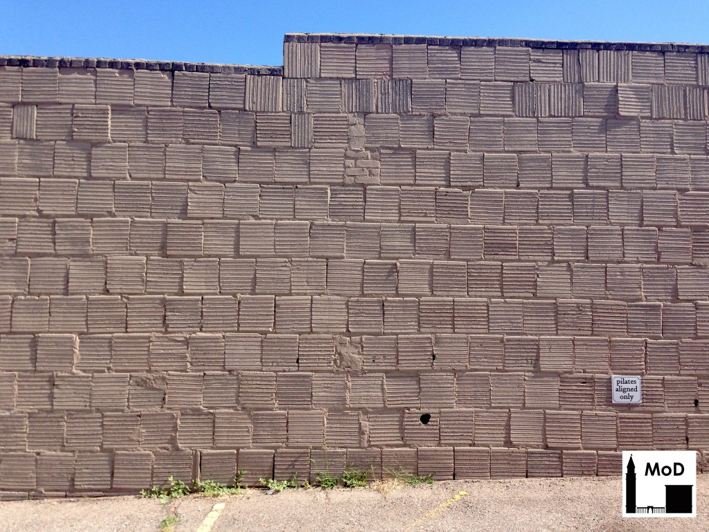 Hollow Clay Tile Exposed The Masonry Of Denver