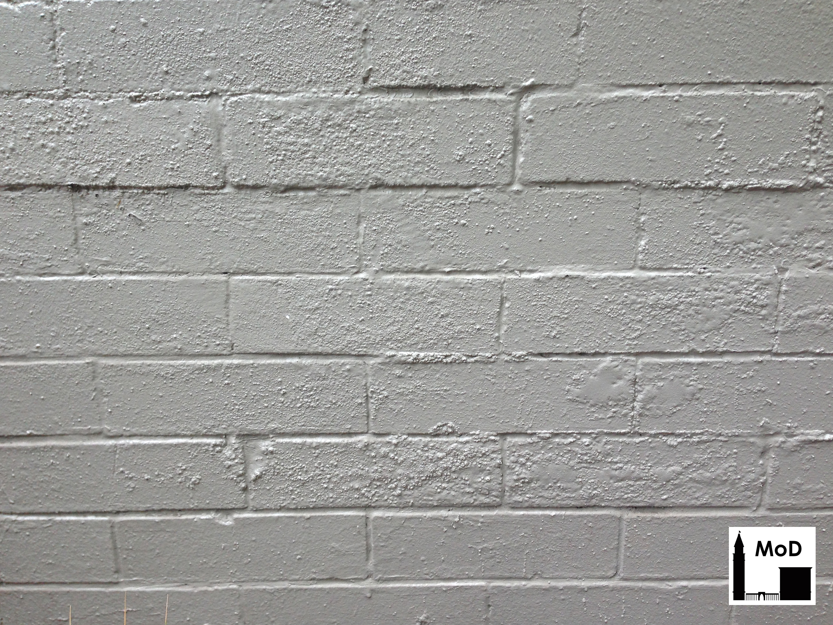 Flaking Paint Usually Means The Is No Longer Properly Adhering To Substrate Either Brick Or