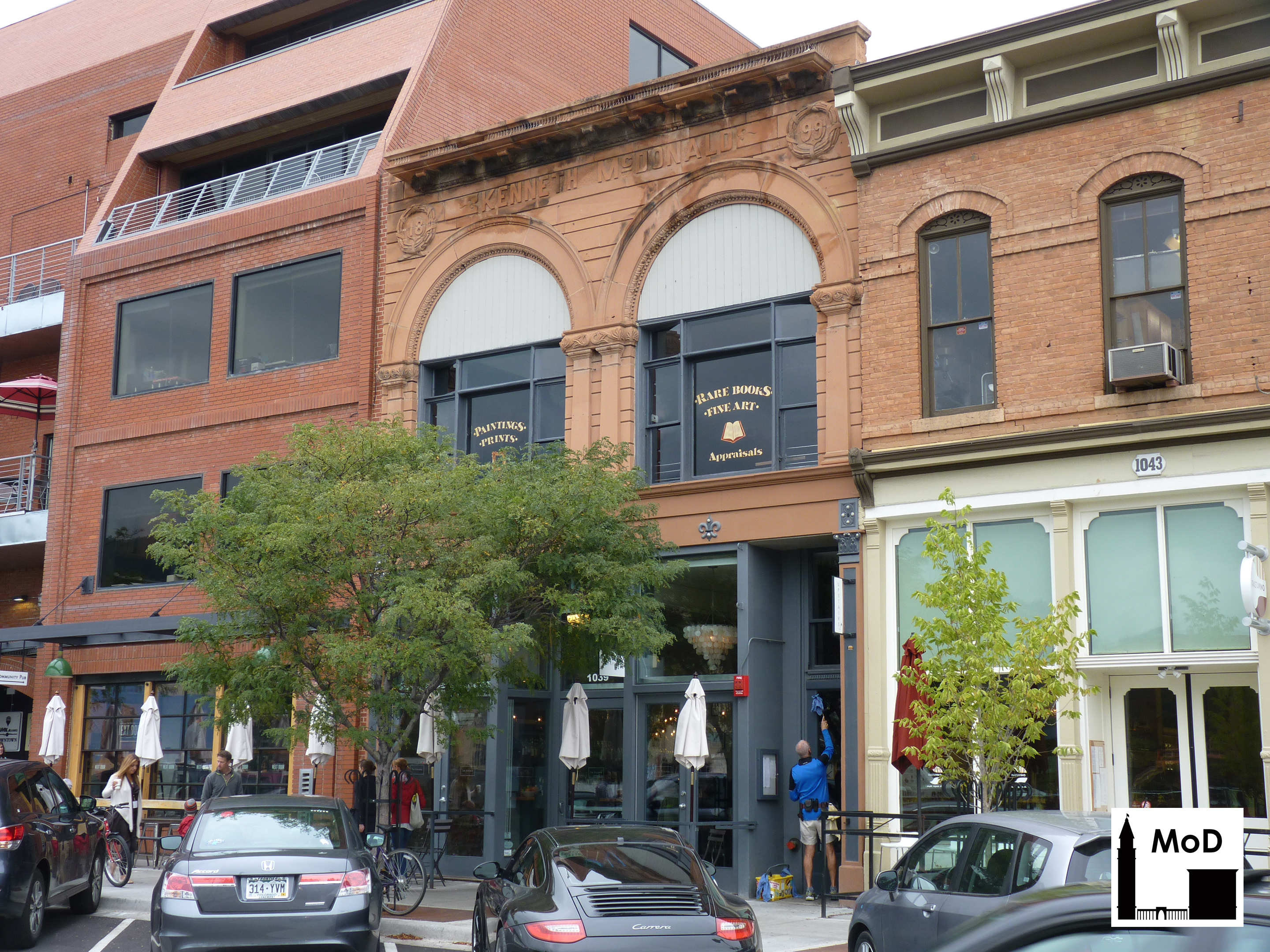 kenneth mcdonald building in boulder the masonry of denver