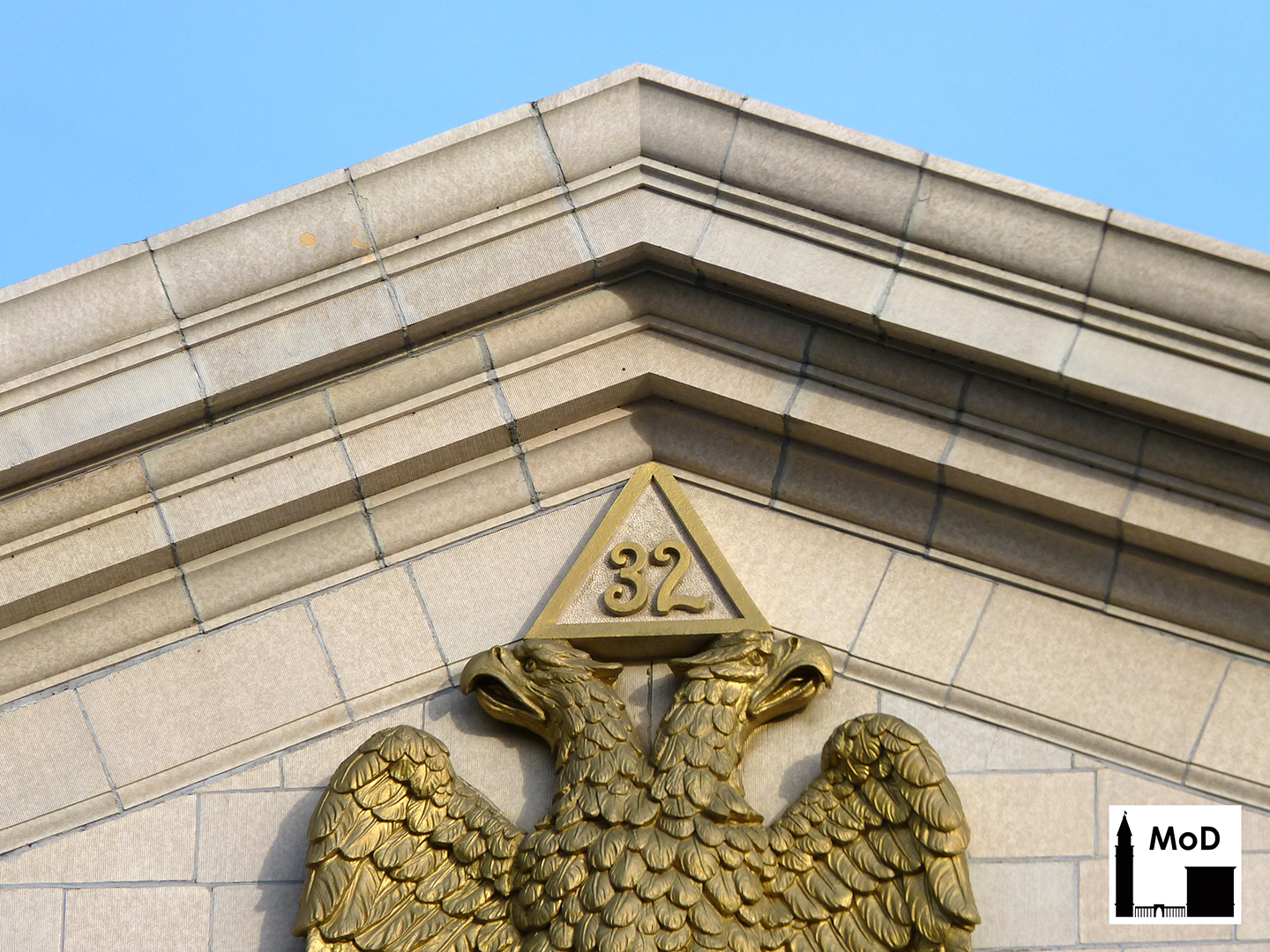 Scottish rite masonic temple the masonry of denver several masonic symbols are present on the exterior of the scottish rite temple including a double headed eagle at the crest of the western pediment buycottarizona Gallery